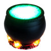 Artisan Cauldron with Bubbles and Flickering Flames Battery/12V