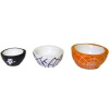 Handcrafted Ceramic Halloween Spider Web Ghost Bowl Set