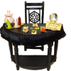 Good Fortune Magic Spell Tarot Reading Table Set