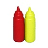 Diner Ketchup and Mustard Dispenser Set