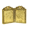 Jeanetta Kendall Small Gold Metal Sweetheart Picture Frame