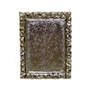 Jeannetta Kendall Silver Metal Picture Frame.