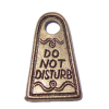 Metal Do Not Disturb Sign