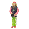 Artisan Crafted Dollhouse Doll Groovy Hippie Chick Girl