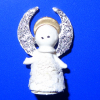 Angel Christmas Tree Topper with Sparkly Wings