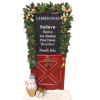 Christmas Theme Door With Snowmand And Gift