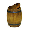 Sir Thomas Thumb Handcrafted Small Pickle Barrel