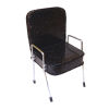 Handcrafted Beauty Salon Black Sparkle Shampoo Chair