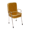 Handcrafted Beauty Salon Gold Sparkle Shampoo Chair