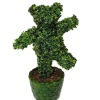 Wilhelmina Handcrafted Dancing Bear Topiary Tree or Plant